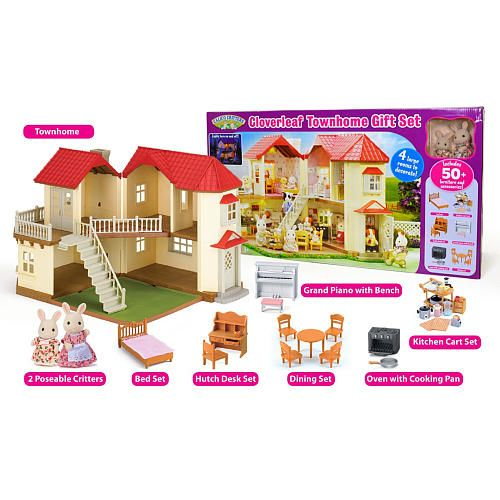 Calico Critters Toys for Kids. Your little one will love to use their imagination when playing with Calico Critters Toys from Kohl's! No matter which superfun option your child is looking for, you're sure to find the Calico Critters Toys for Kids they're in search of when shopping Kohl's.