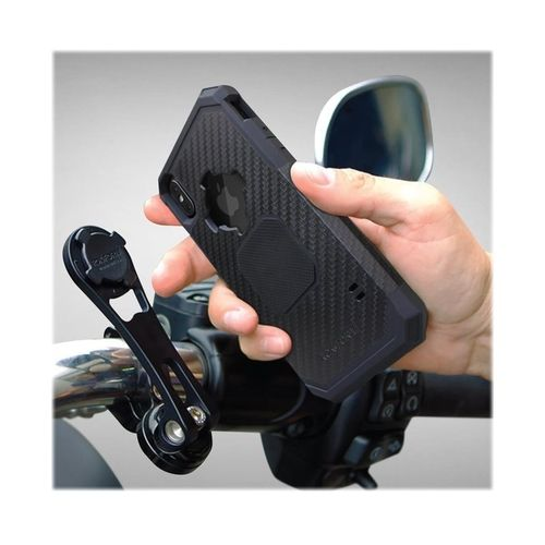 Rokform Motorcycle Mount For Mobile Phones Anodized Black