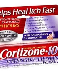 Get The Red Out Of Zits With Cortizone 10 Intensive Healing