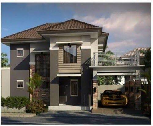 20 Desain Garasi Mobil Samping Rumah Minimalis 31 Model Garasi Mobil Minimalis Desain Mewah Sederhana 5 Di 2020 Desain Exterior Rumah Desain Eksterior Home Fashion