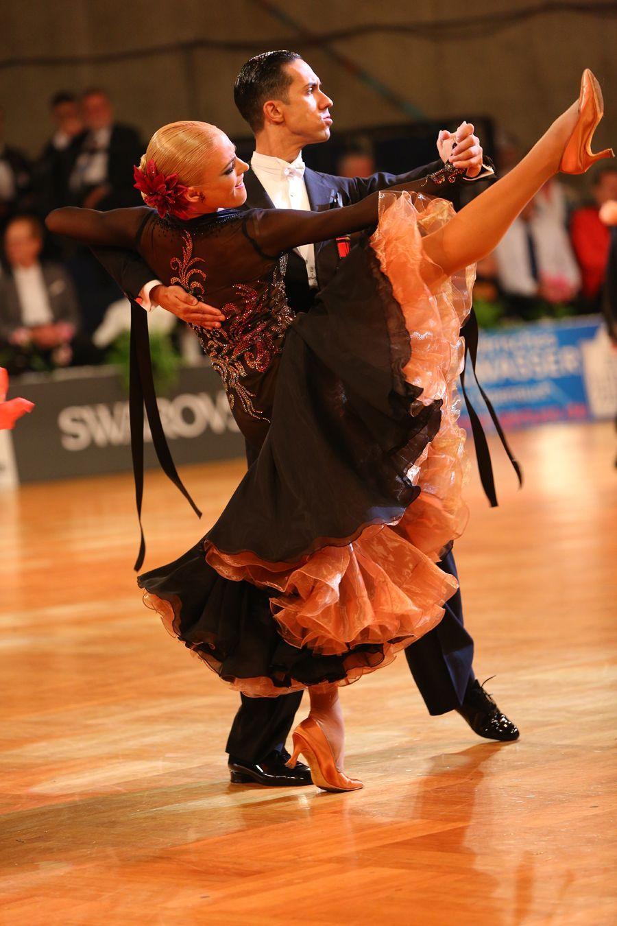 Tania Kehlet Chrisanne Clover ballroom dance dress ...