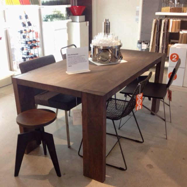 Blox Table At Cb2 499 Dining Table Table Decor