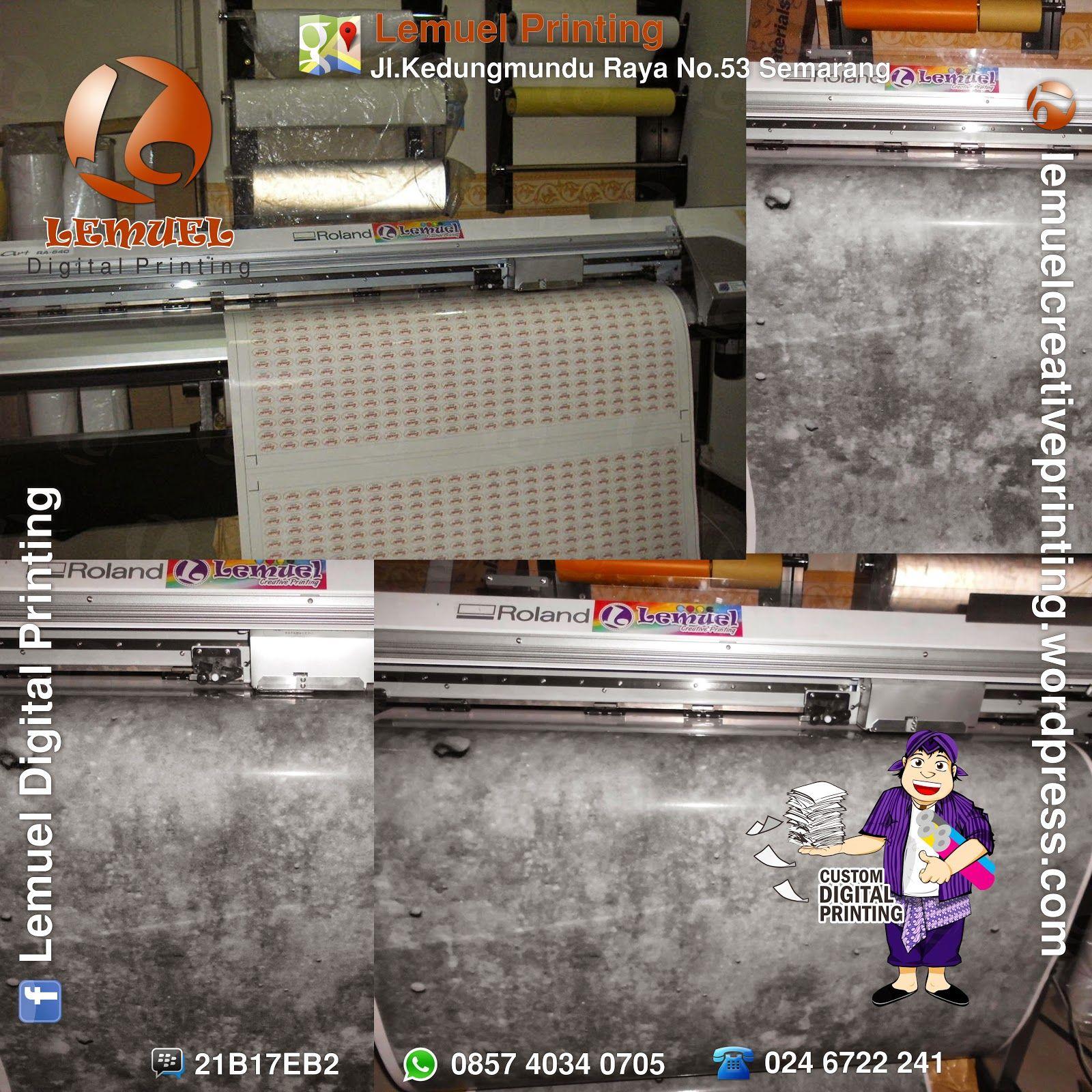 Custom print sticker chromo kertas berkualitas by digiprint