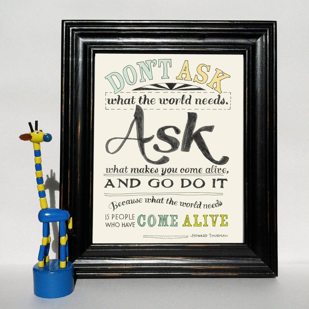 Art quote wall art typography quote office by girlfridaypaperarts
