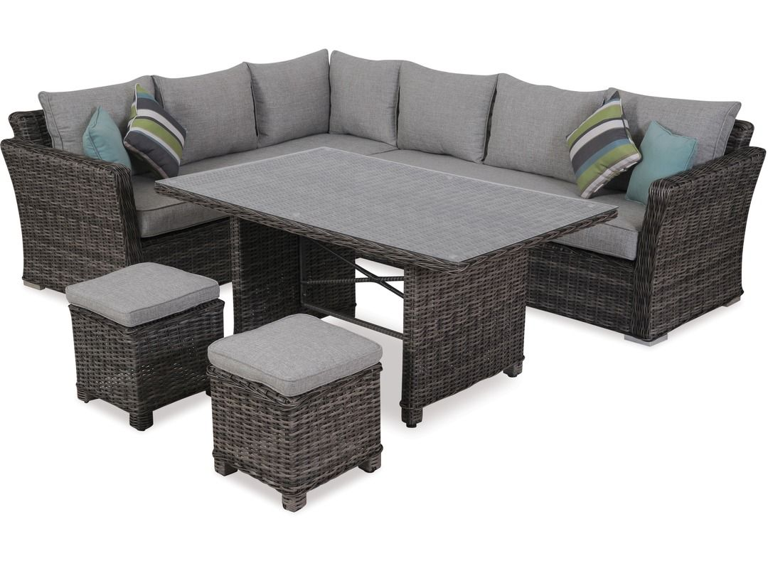 Bordeaux 9 Piece Dining Suite