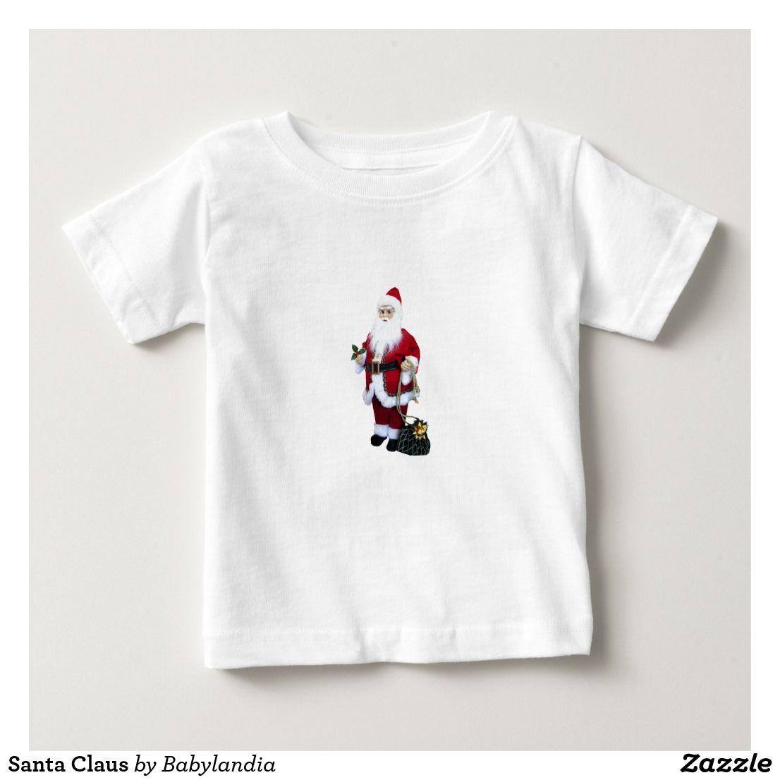 Santa Claus Baby TShirt (With images) Baby tshirts