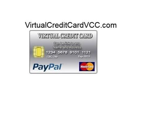 Virtual Credit Card Vcc With Images Virtual Credit Card