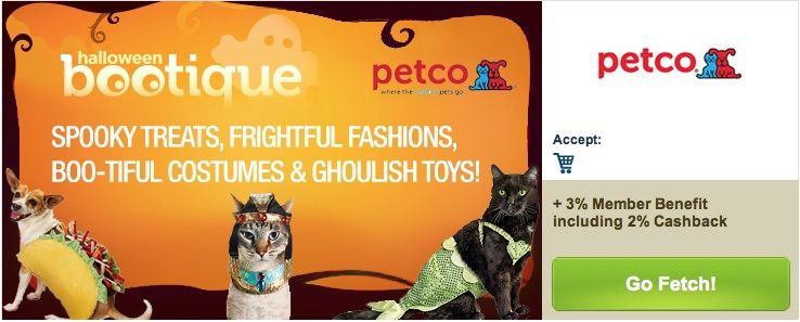 Petco Specials From Lyoness Petco Spooky Treats Cashback