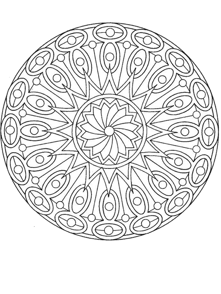 pin by colorea y pinta on coloring book mandalas pinterest