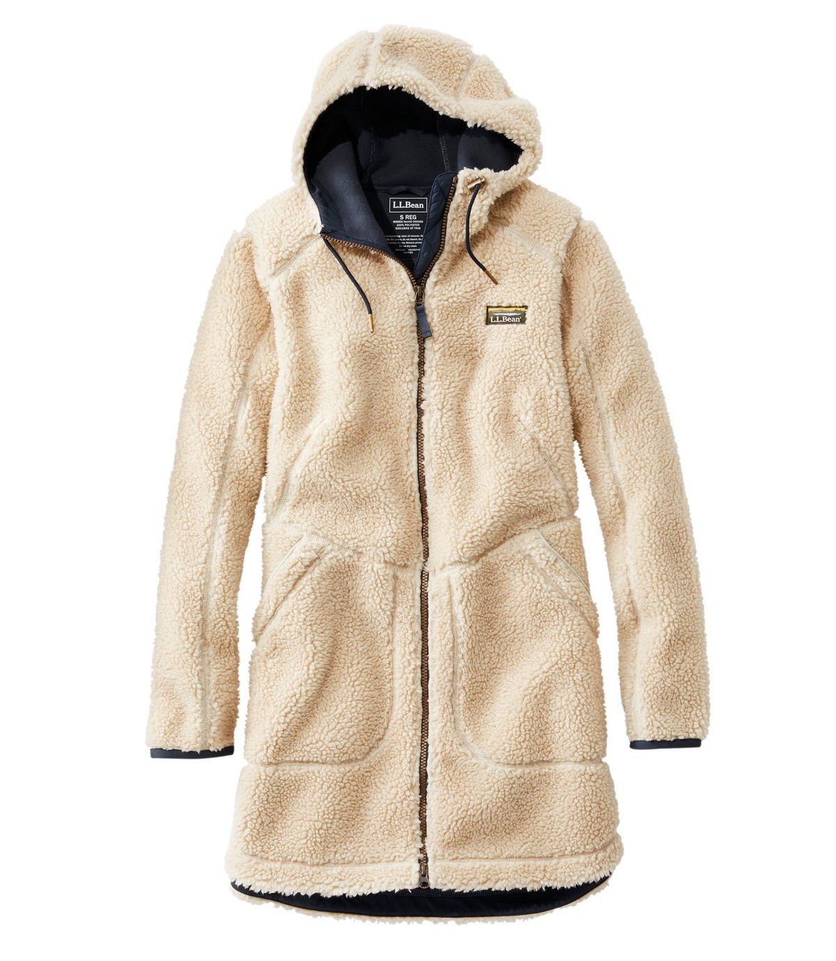 Women S Mountain Pile Fleece Coat In 2021 Women Outerwear Jacket Fleece Coat Outerwear Women [ 1379 x 1200 Pixel ]