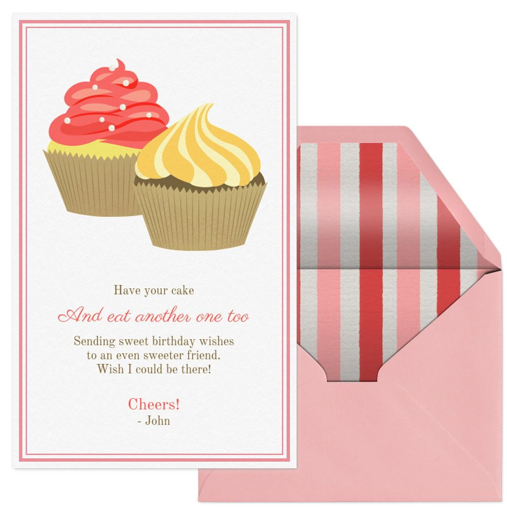 Send Sweet Birthday Wishes With This Digital Card From Evite