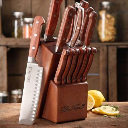 The Pioneer Woman Cowboy Rustic Cutlery Set, 14-Piece - Walmart ...