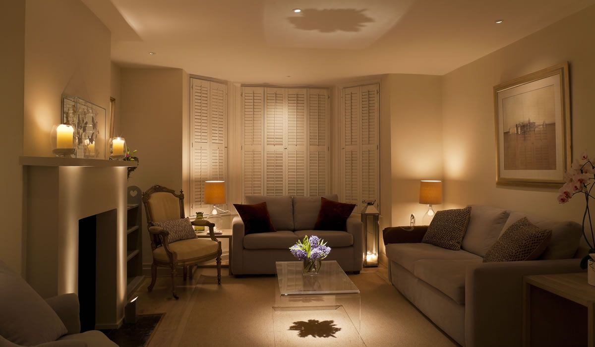 Living Room Lighting Design | John Cullen Lighting