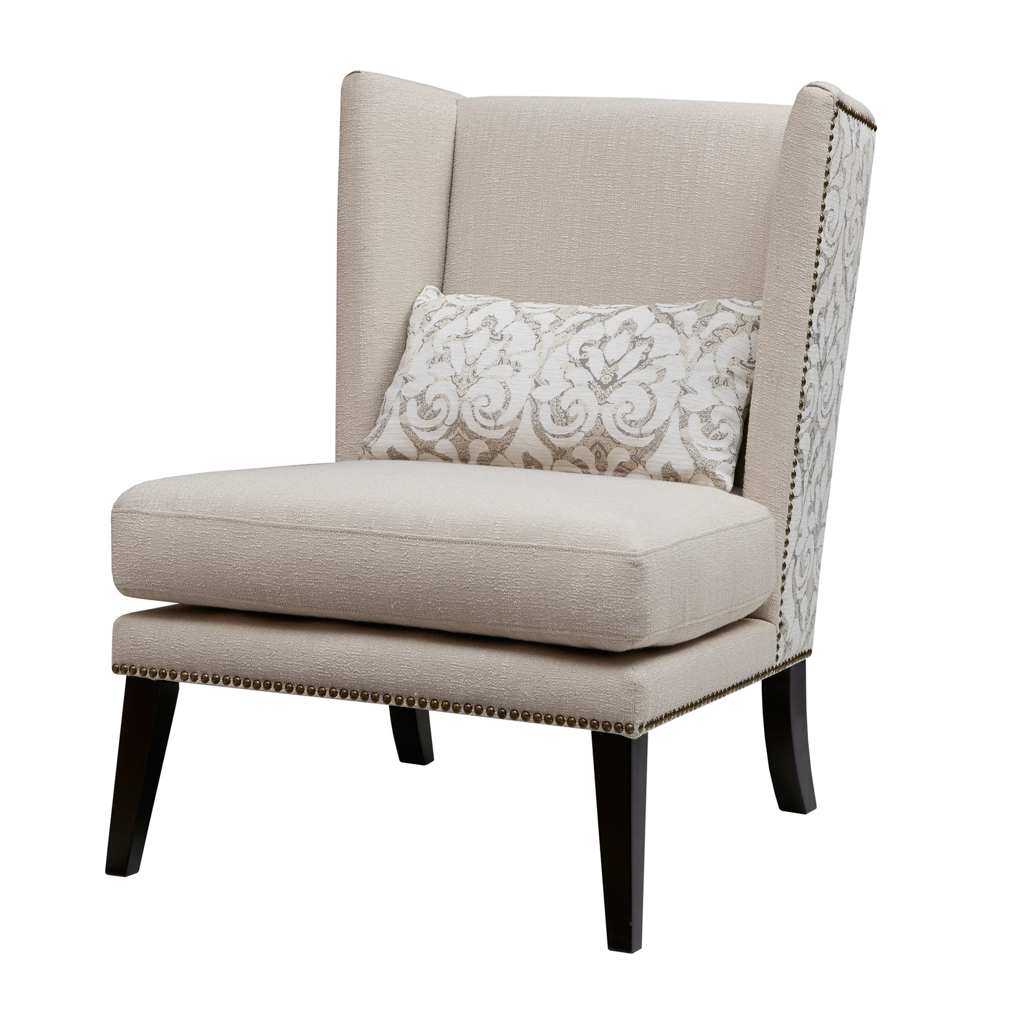Accent chairs jla home tan tan multi armless accent