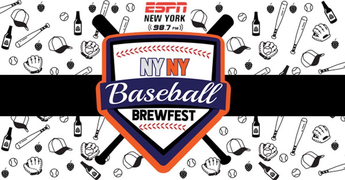NY NY Baseball Brewfest (Postponed) Ny baseball