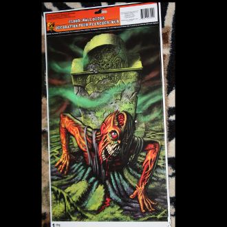 halloween horror prop zombie ghoul in grave floor wall grabber window decoration
