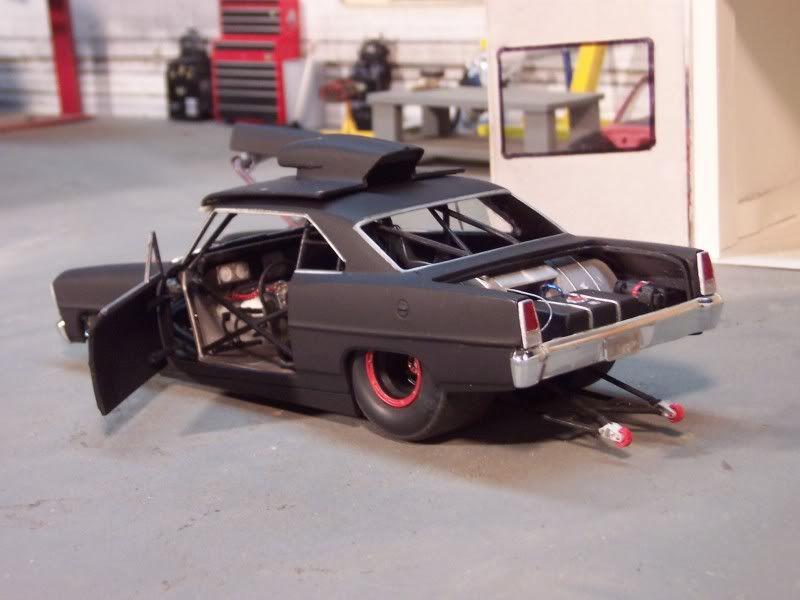Nova pro Street Model cars kits, Scale models cars