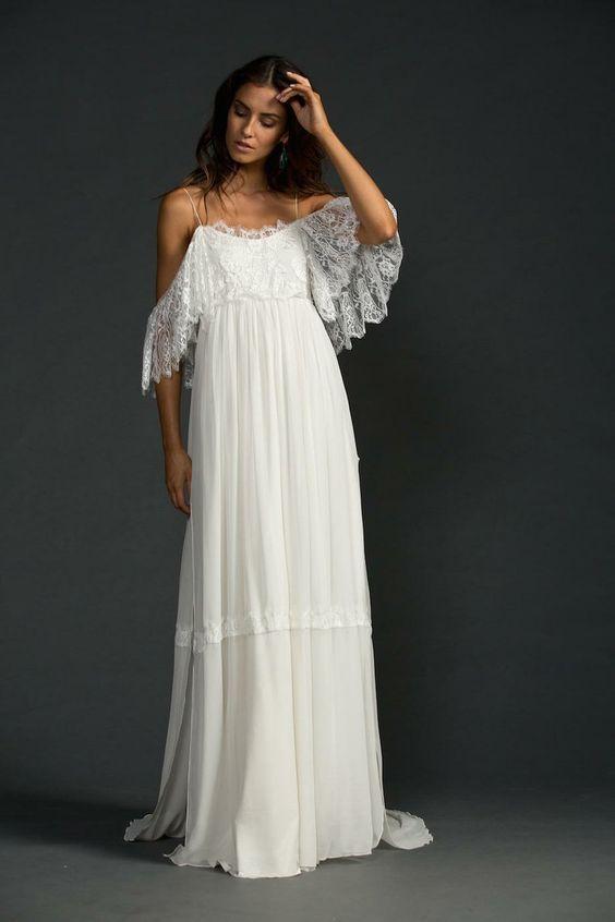 Vestidos novia rusticos