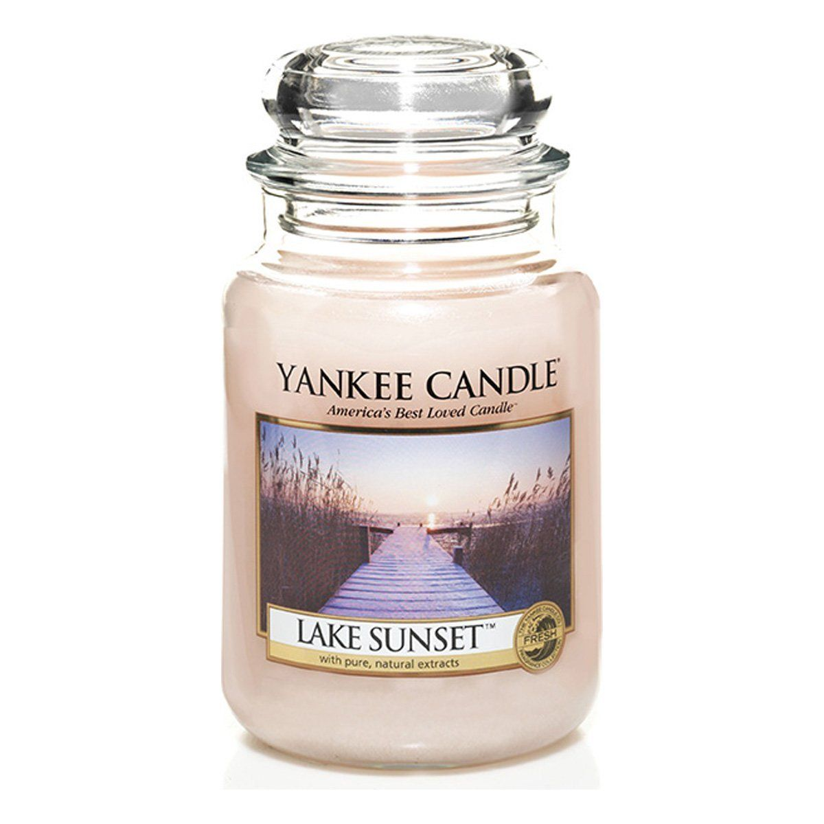 Yankee candles large jar candle lake sunset ueueue startling review