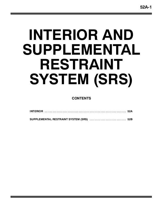 2005 MITSUBISHI MONTERO PAJERO Service Repair Manual en 2020