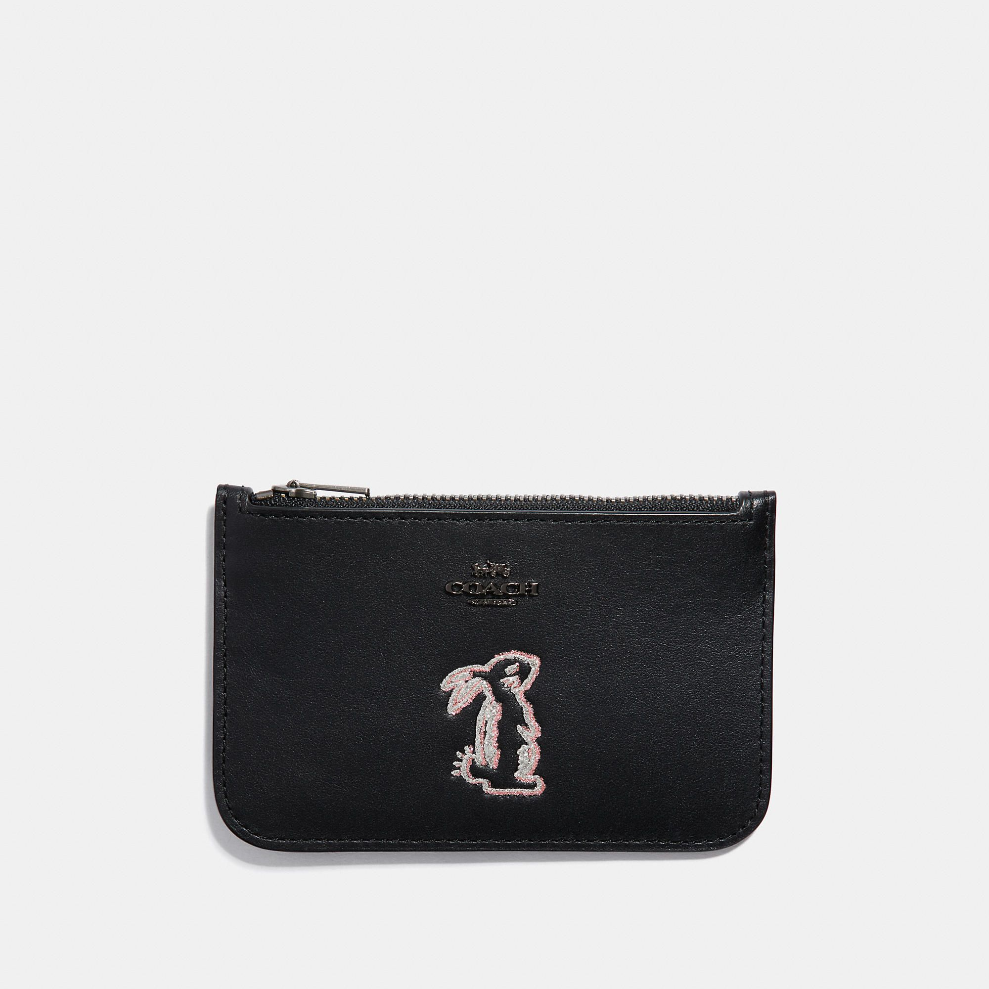 4badb2f4f4d5 Selena zip card case with bunny | Products | Fashion, Zip around ...