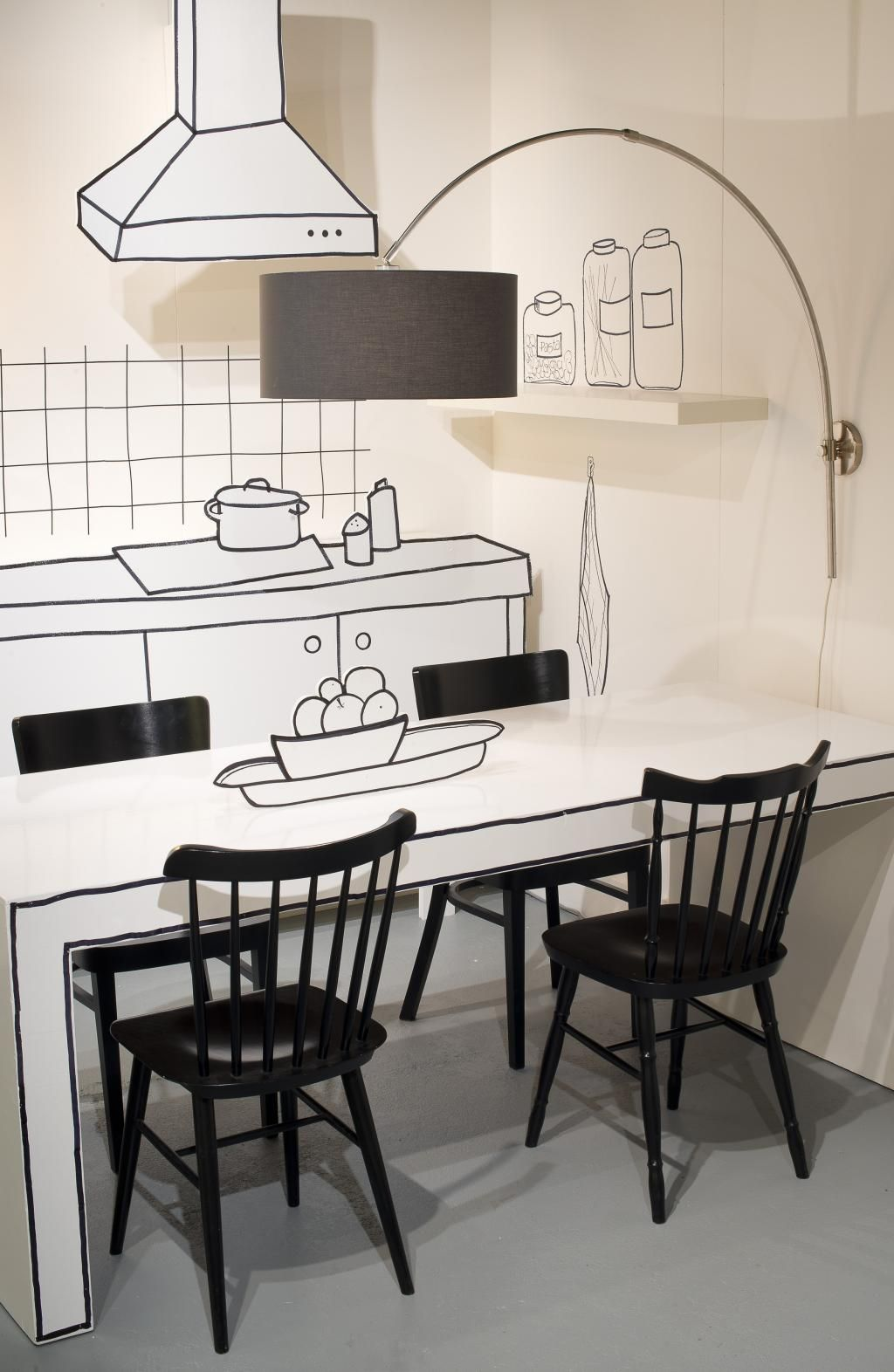 It\'s About RoMi Wandlamp Bolivia Zwart IJzer - Design meubelen ...
