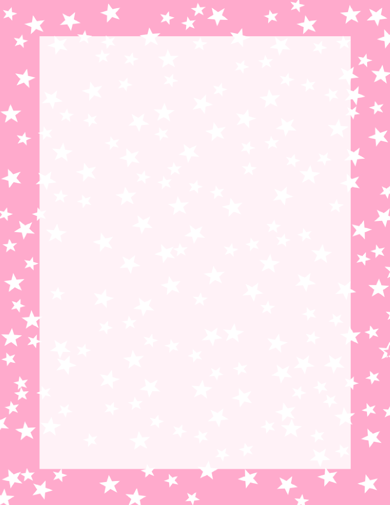 18+ Pink star outline clipart ideas in 2021