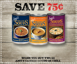 Fantastic Print Your Coupon For 0 75 Off Any Two Amys Kitchen Soups Interior Design Ideas Inamawefileorg
