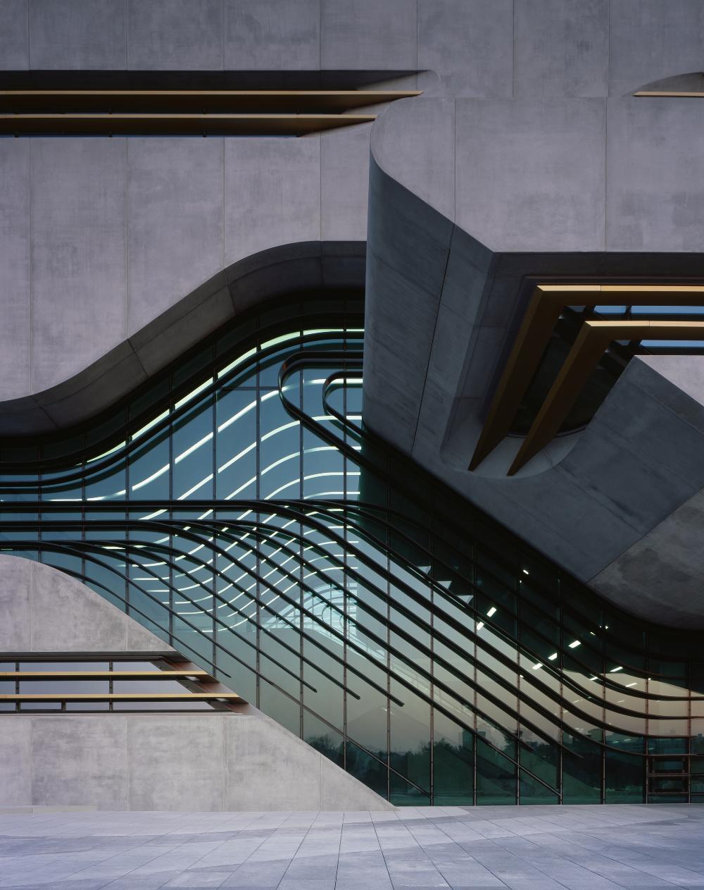 Pierres Vives Zaha Hadid Architects Reynaers Aluminium Urbastyle Archello Zaha Hadid Architecture Zaha Hadid Architects Interior Architecture Design