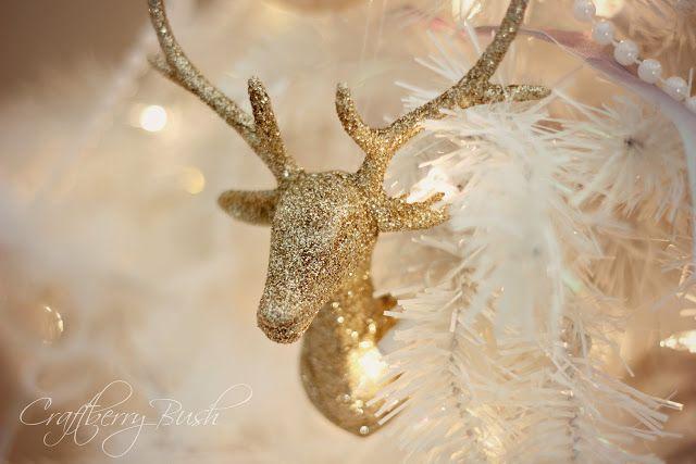 Craftberry Bush The white Christmas tree Navidad Pinterest