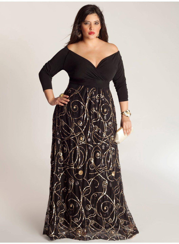 373f7eaf6 Increíbles vestidos de noche para gorditas
