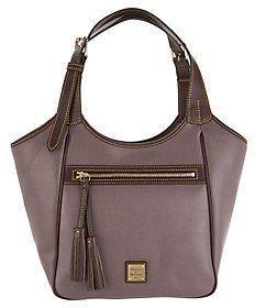 015f62e69349 Dooney & Bourke As Is Saffiano Leather Shoulder Dooney Bourke, Leather  Shoulder Bag, Qvc