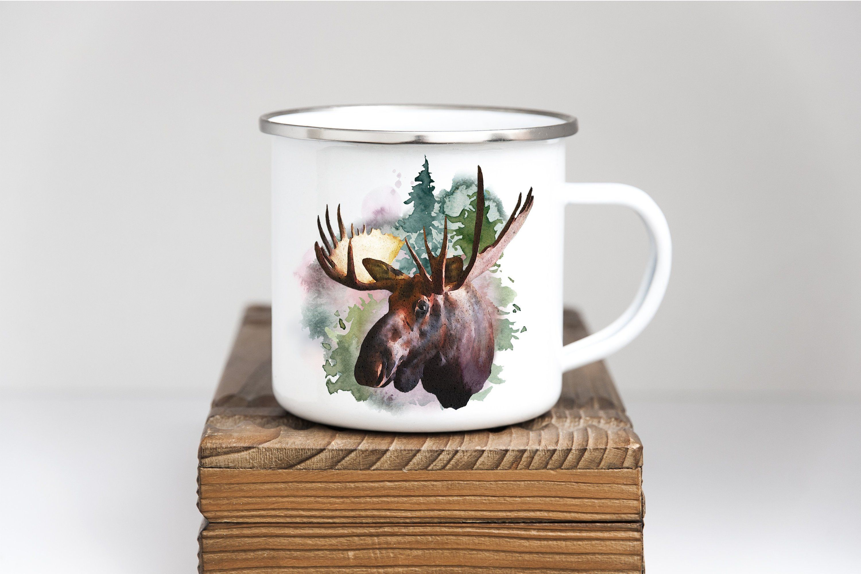 Moose Personalized Coffee Cup Personalized coffee cup