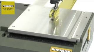 Proxxon - Scroll Saw DS230/E (english) - YouTube Available from www.multifilla.com
