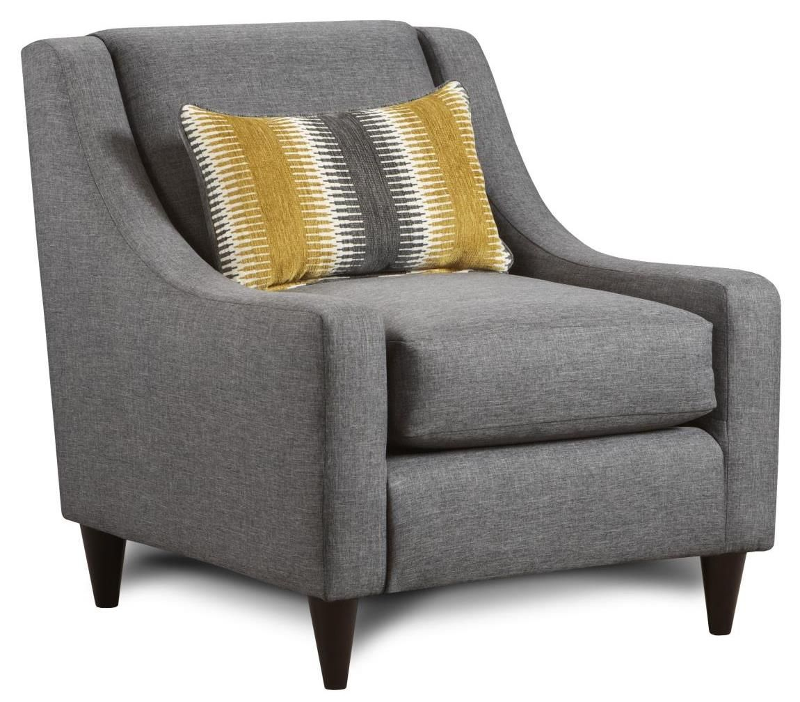 Best Maxwell Grey Accent Chair 449 00 Adam 592 Furniture 640 x 480