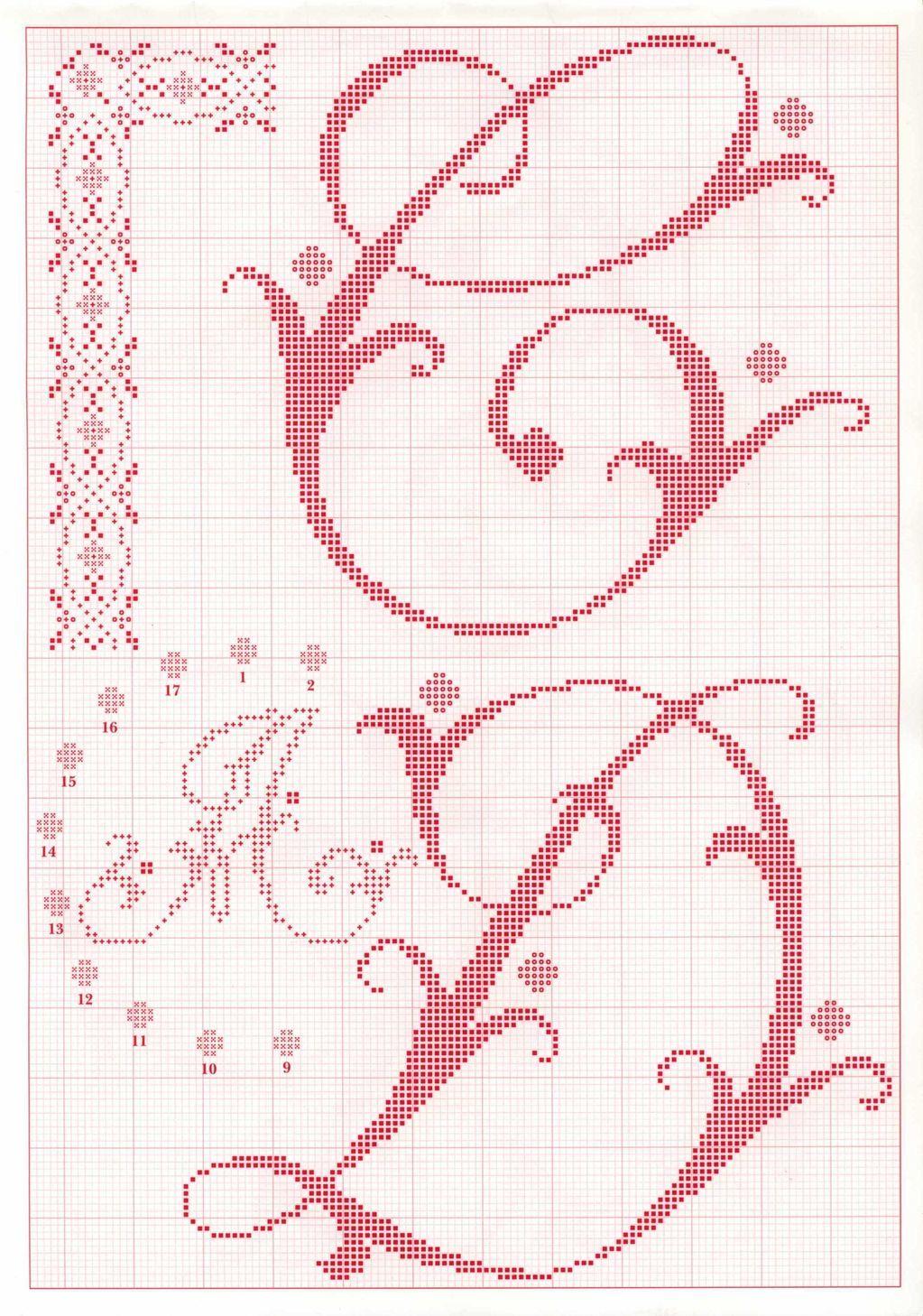 Pin de Maritza Sasaki en Crochet : Filet doilies (Carpeta en gancho ...