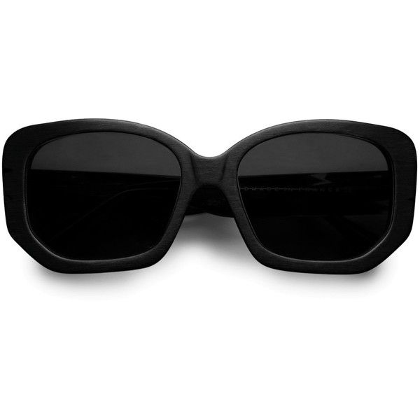 WANT - ACNE Wilde Black ( 420) found on Polyvore   Shiny ... f906d51729f0