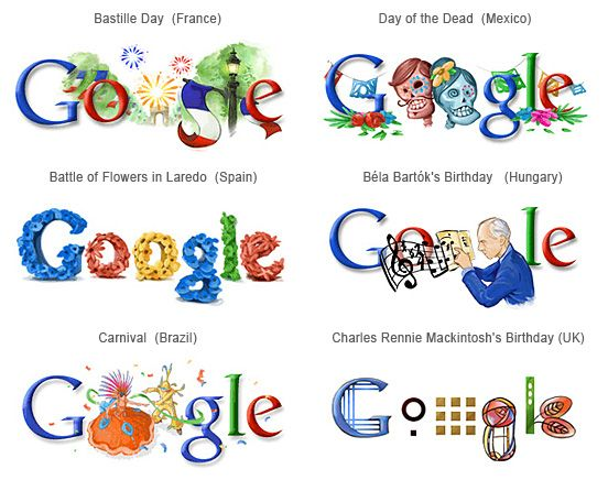 Google Doodles From Different Countries You Havenu0027t Seen | The .