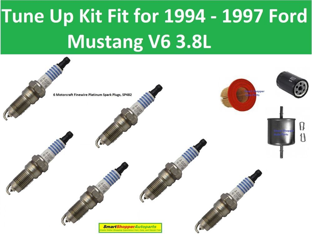 Spark Plugs Oil Fuel Air Filter Fit For Tune Up 1994 1995 Why