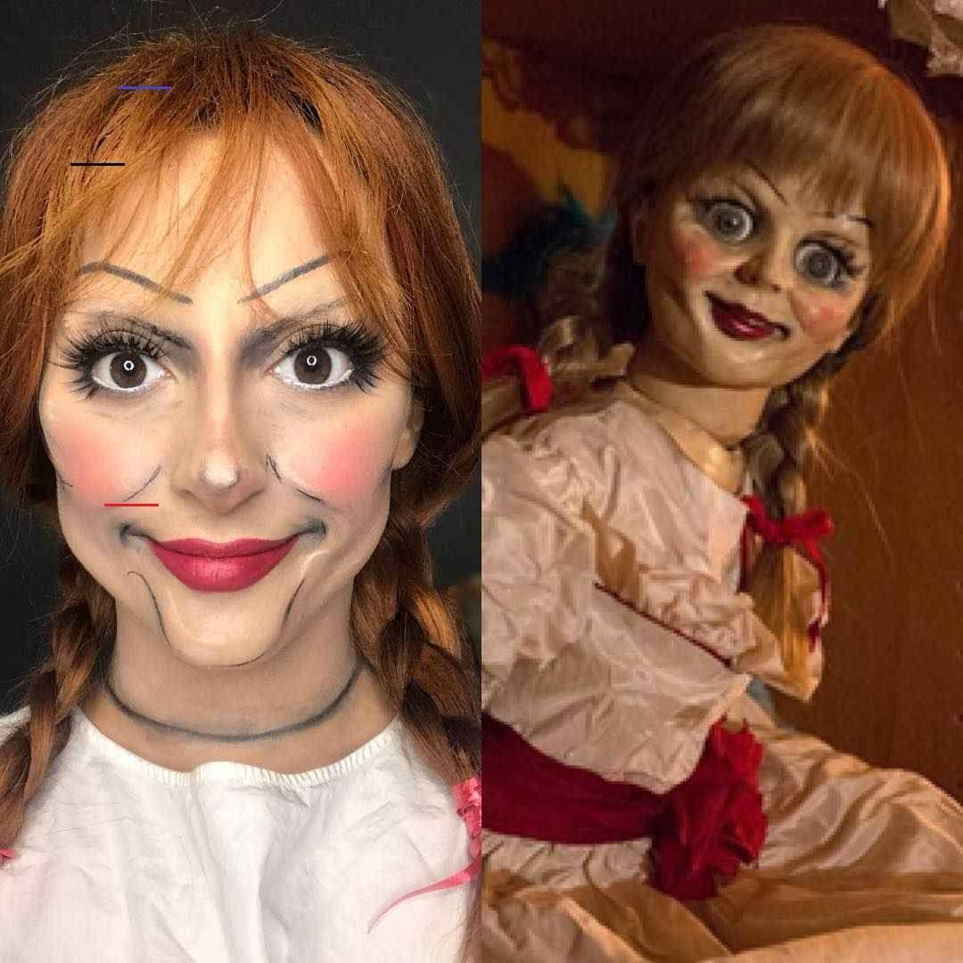 Horror-Puppen-Kostüm selber machen - #dollcostume - Horror
