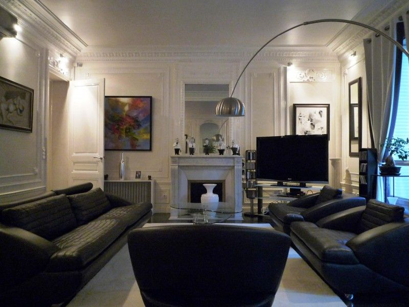 Jolie d co appartement haussmannien living rooms and room