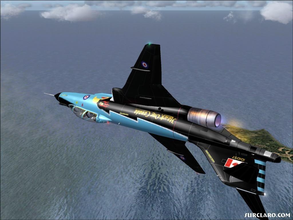 F-101 Voodoo Inverted