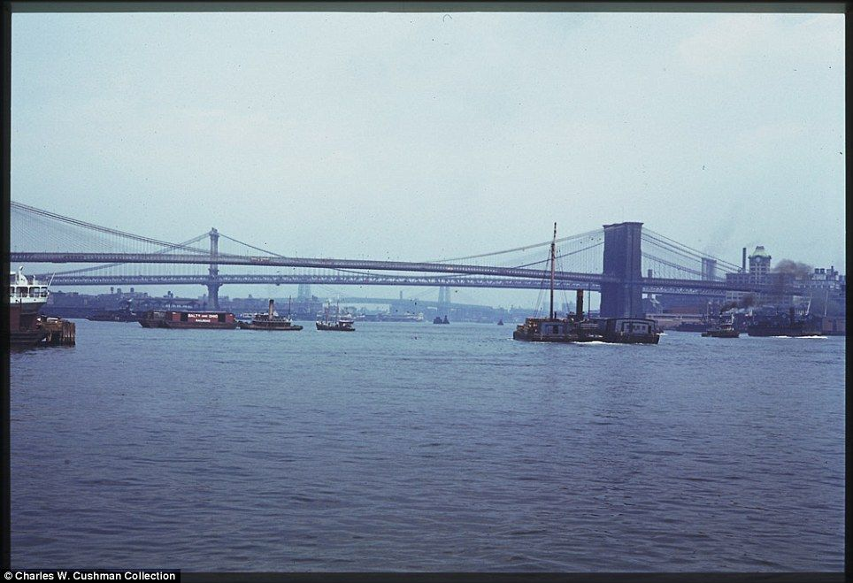 Early color photos of 1941 NYC