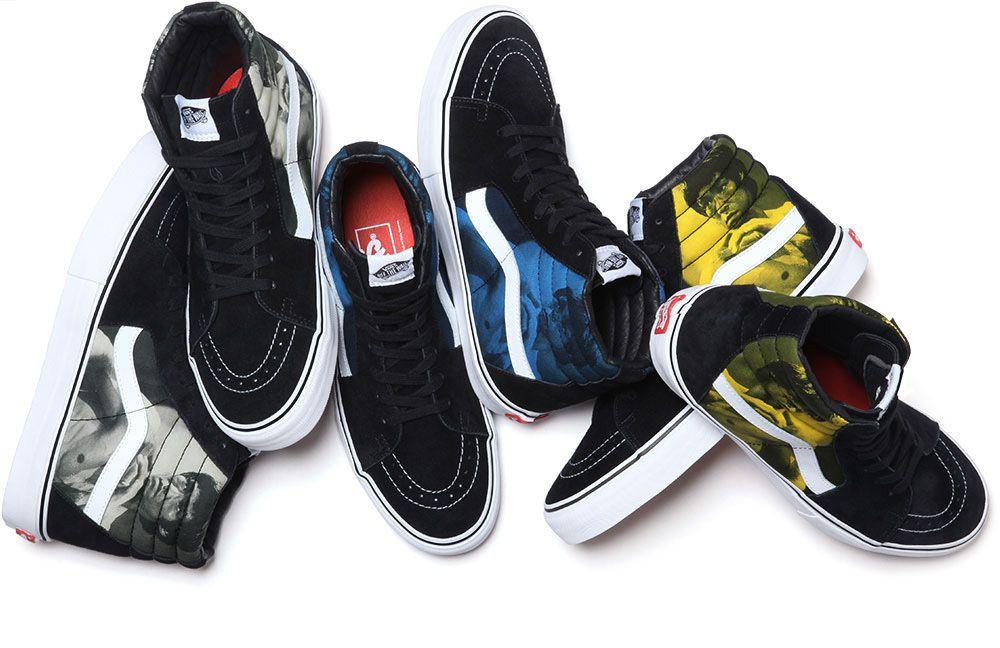 #Vans #Supreme #BruceLee collection #Sneakers