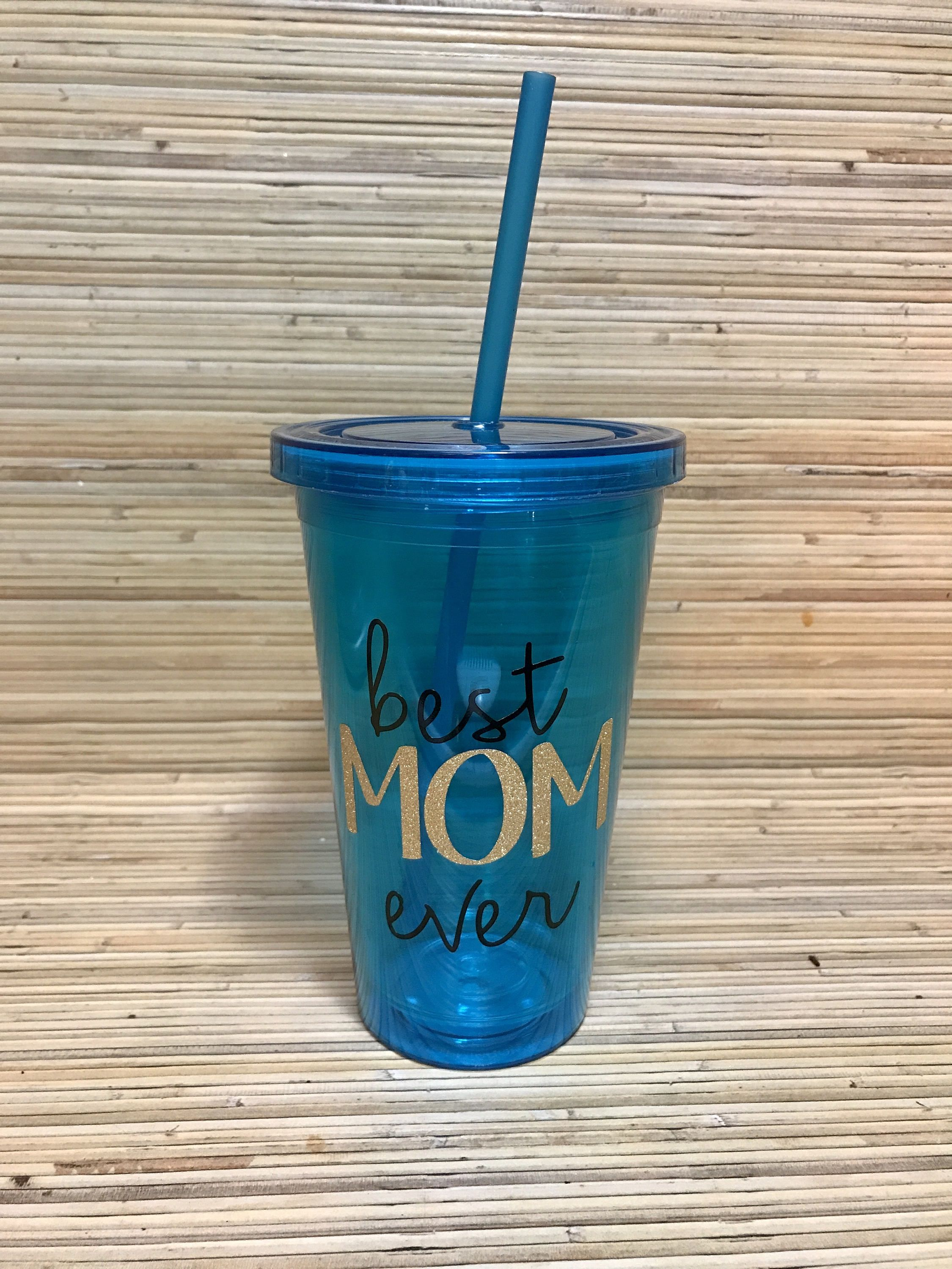 Best mom ever tumblermothers day giftcute tumbler by