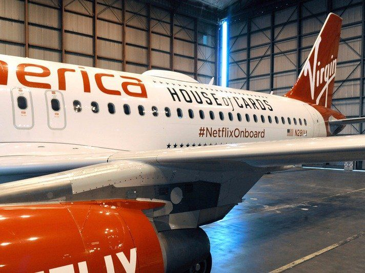 Netflix will now give its subscribers free WiFi on Virgin America flights (NFLX) - Netflix is partnering with Virgin America to bring its subscribers a nifty perk — free streaming of the entire Netflix catalog during Virgin flights. Using internet on flights has become one of the most annoying devil's bargains of flying recently. Even if you have the cash to shell...   http://wp.me/p5qhzU-3JJ   #Travel #bucketlist #dreamplaces