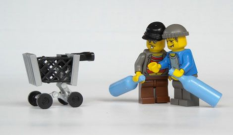 Lego Shopping Cart Lego Lego Furniture Legos