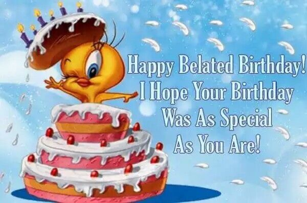 Happy Belated Birthday Wishes Spiritual ~ Pin by ellen moeller on wishing you a happy .. pinterest