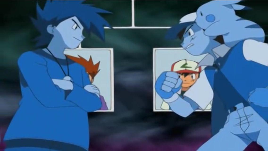 Ash Vs Gary Pokemon