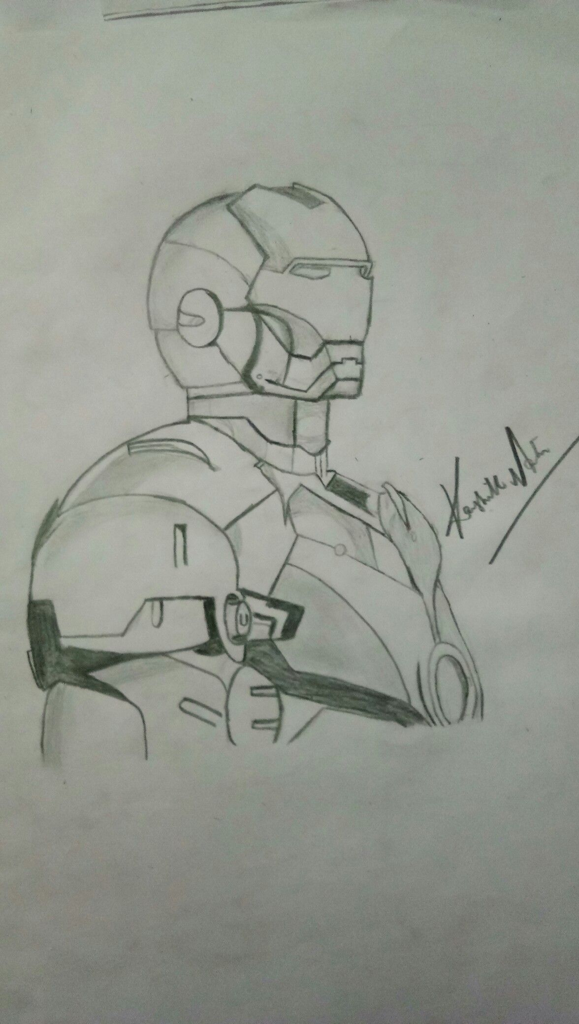 Iron Man By The Solo Explorer In